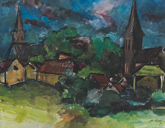 Jan Vluggen – Abcoude bij onweer