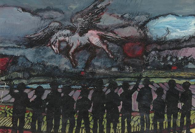 Jan Vluggen – Pegasus landt onder bijval