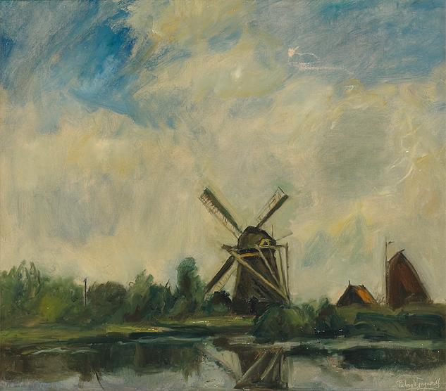 Piet van Wijngaerdt – Molen te Abcoude