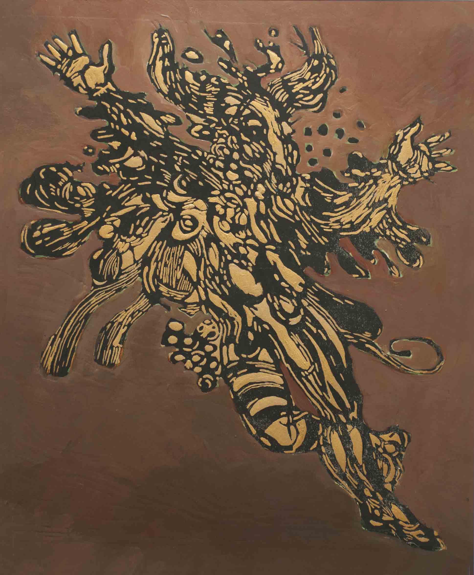 Jan Vluggen – Gouden danser