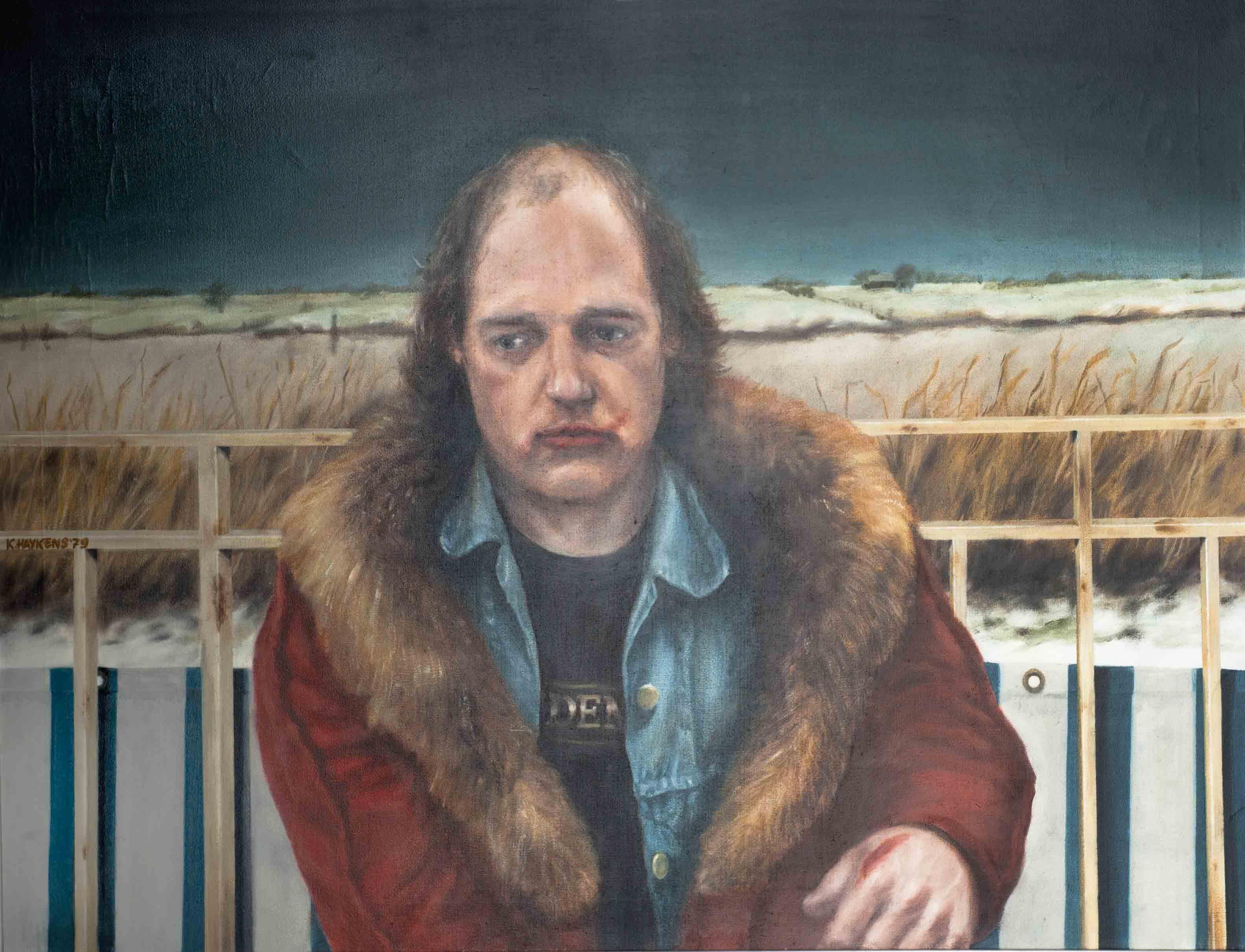 Koos Haijkens – Man met rode jas