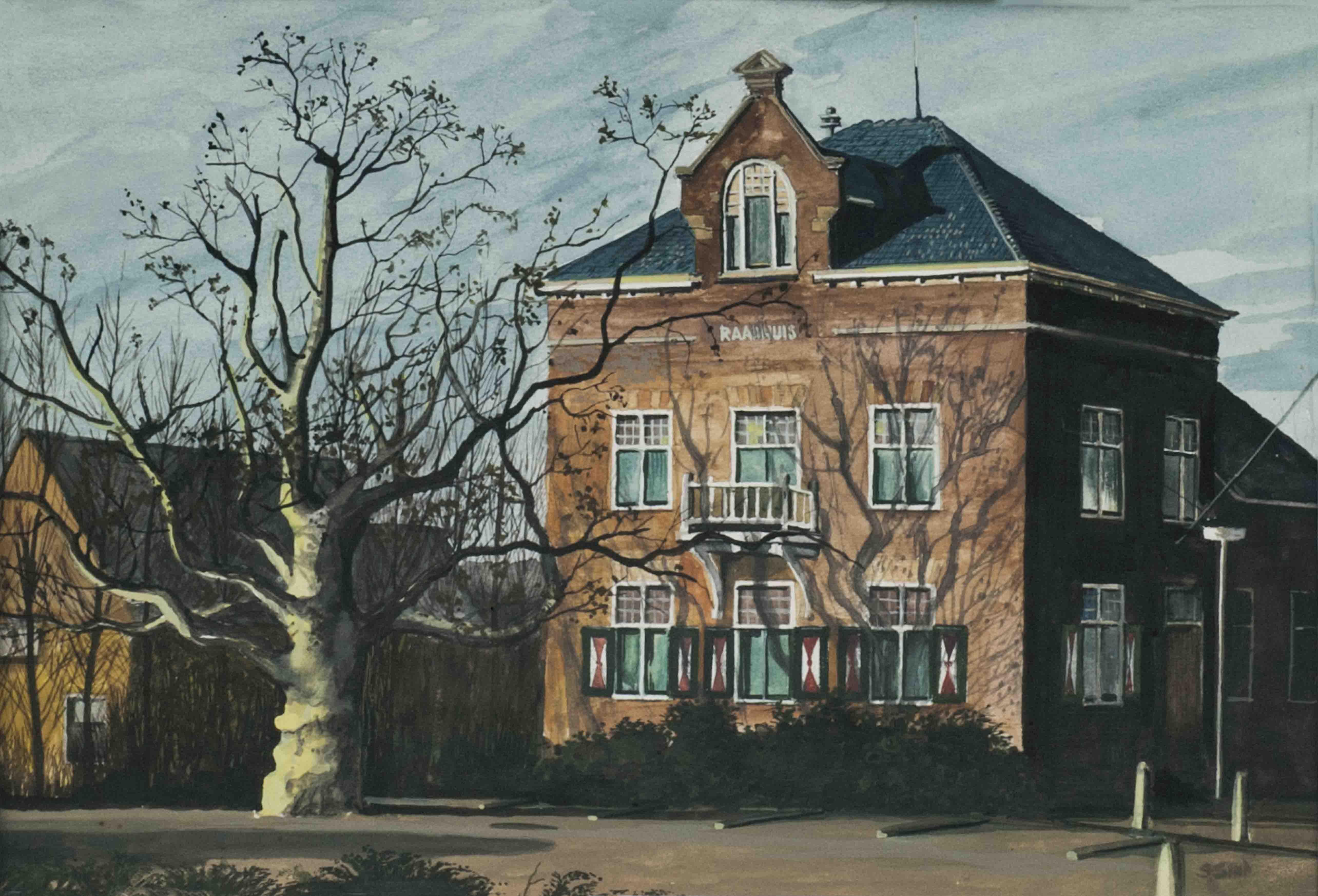 Simon Sint – Raadhuis te Wilnis
