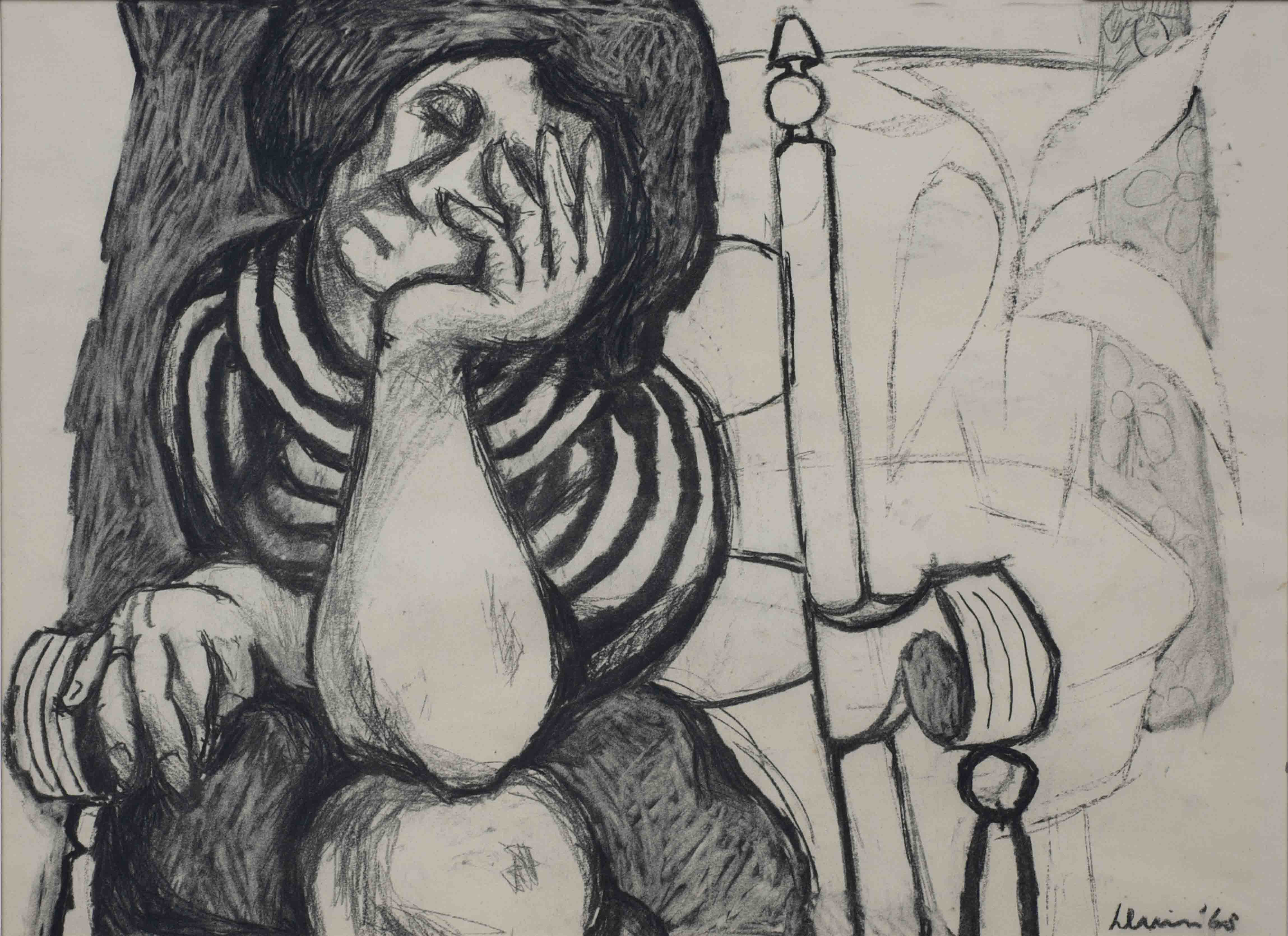 Rinus Duin – Vermoeide vrouw ( Inge M.)